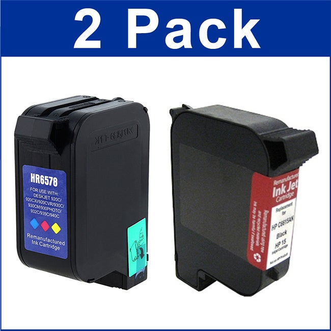 HP 15/78 Ink Cartridge (Remanufactured)