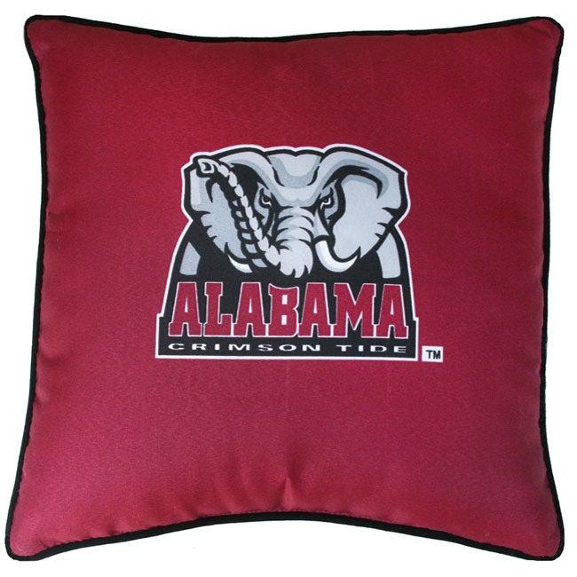 Alabama Crimson Tide 18 inch Throw Pillow