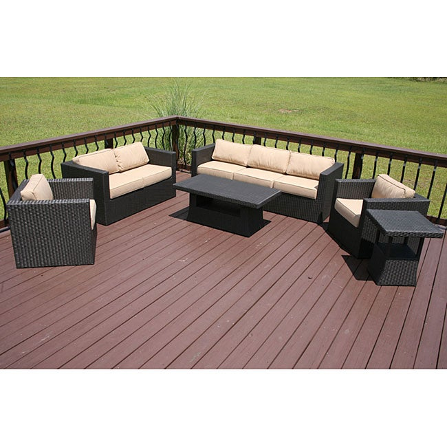 Overstock Patio Furniture Sets Tuscan 7 Patio Furniture