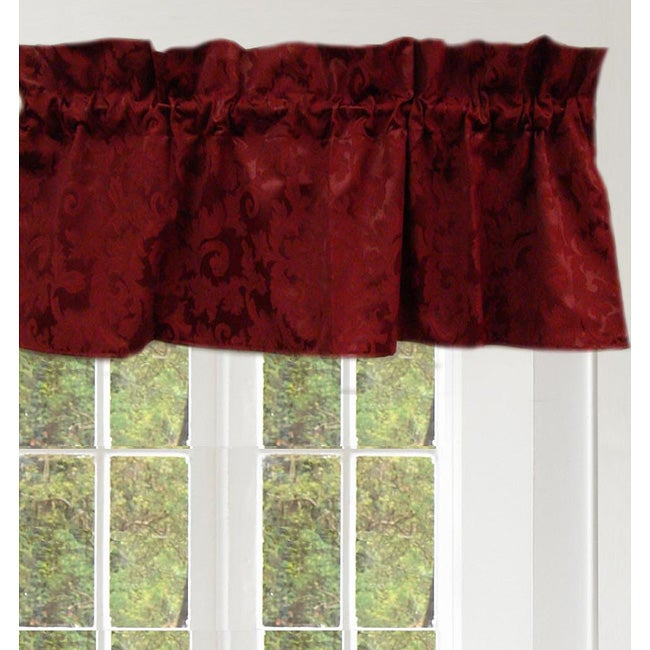 Floral Scroll 53-inch Curtain Panel Pair