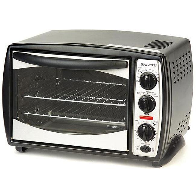 Euro Pro Bravetti 6-slice Toaster Oven - 12144546 - Overstock.com ...