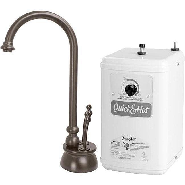 Oil-rubbed Bronze Instant Hot/ Cold Water Dispenser