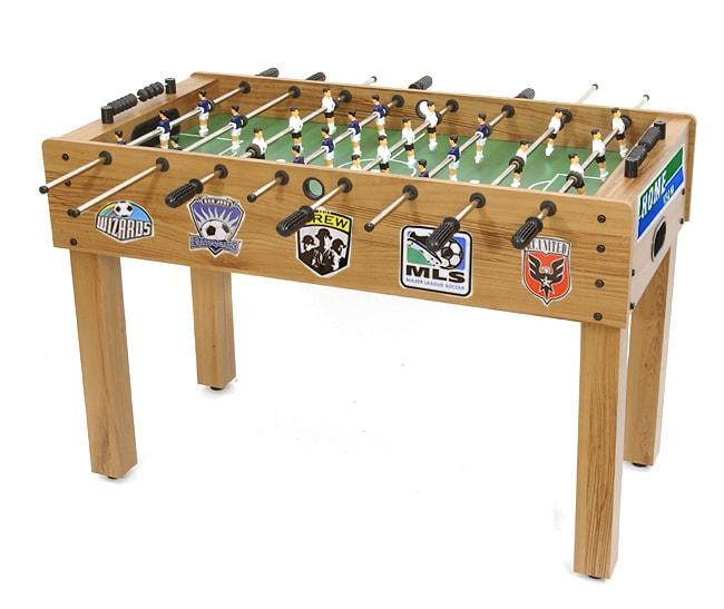 major soccer league table