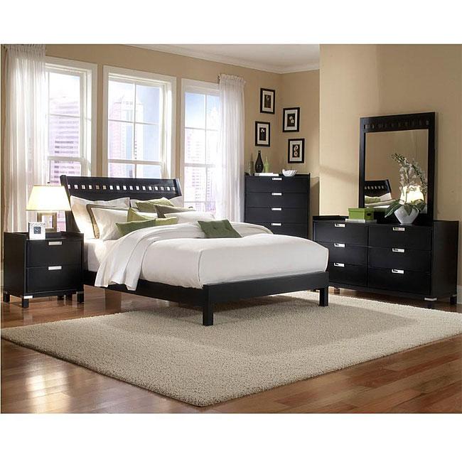 Noho Cool Black 5-piece Full Bedroom Set
