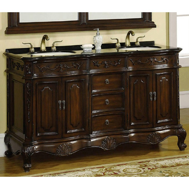 ica furniture hand carved annette vanity 12217584