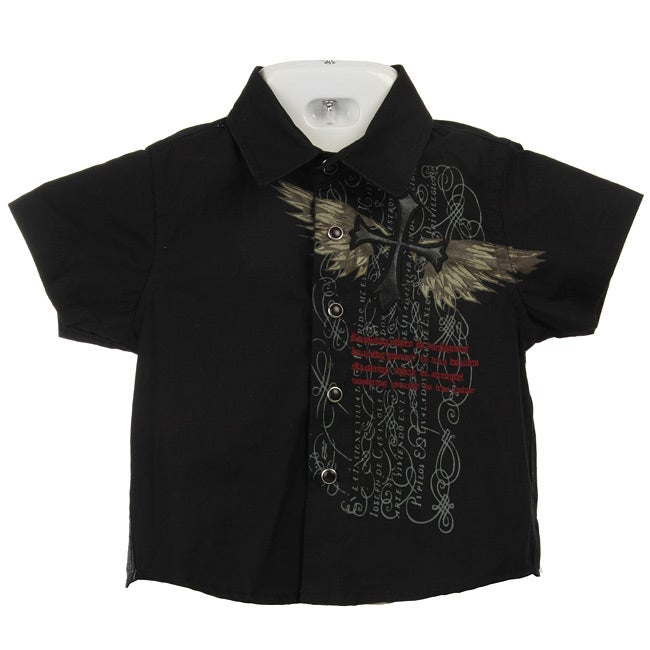 Roar Boy's Recognition Snap-front Shirt