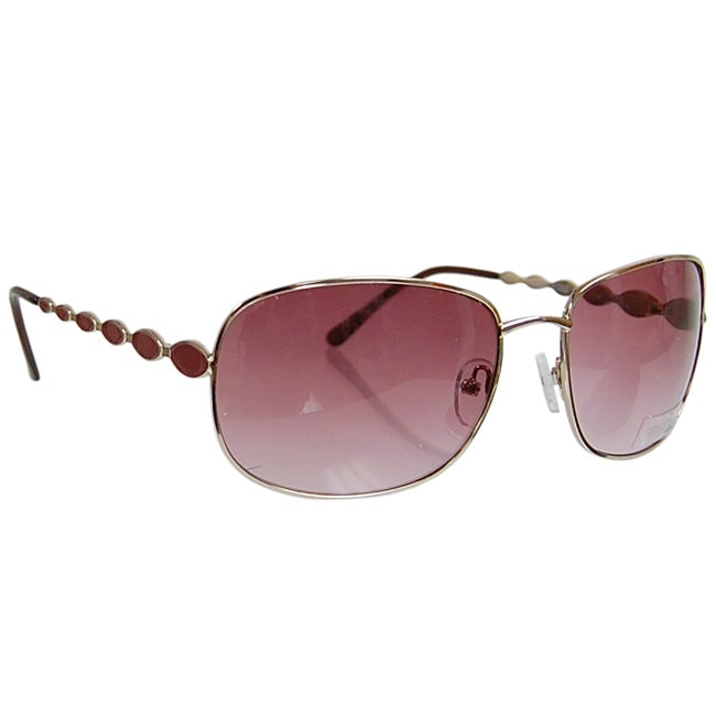 Kenneth Cole Reaction KC1050 Women's Metal Rim Sunglasses