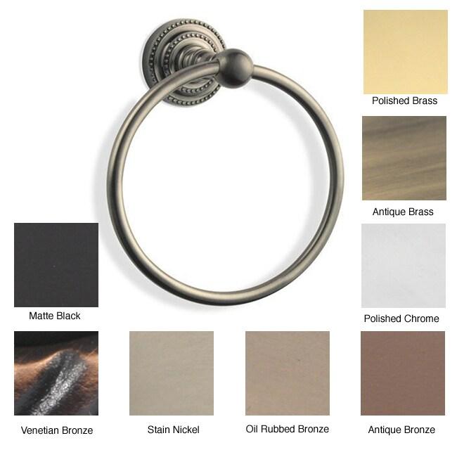 Allied Brass Dottingham Towel Ring