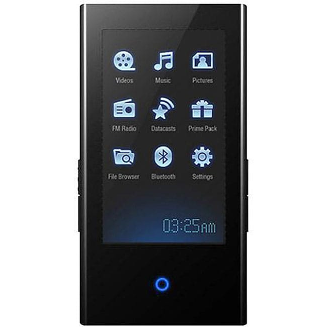 samsung 4gb touch screen bluetooth mp3 player refurbished. Black Bedroom Furniture Sets. Home Design Ideas