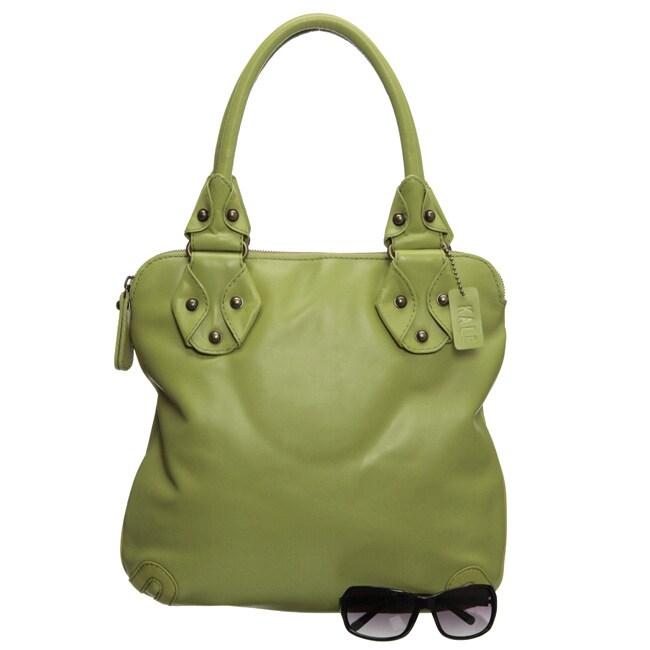 Kale 'Palmer' Leather Tote Bag