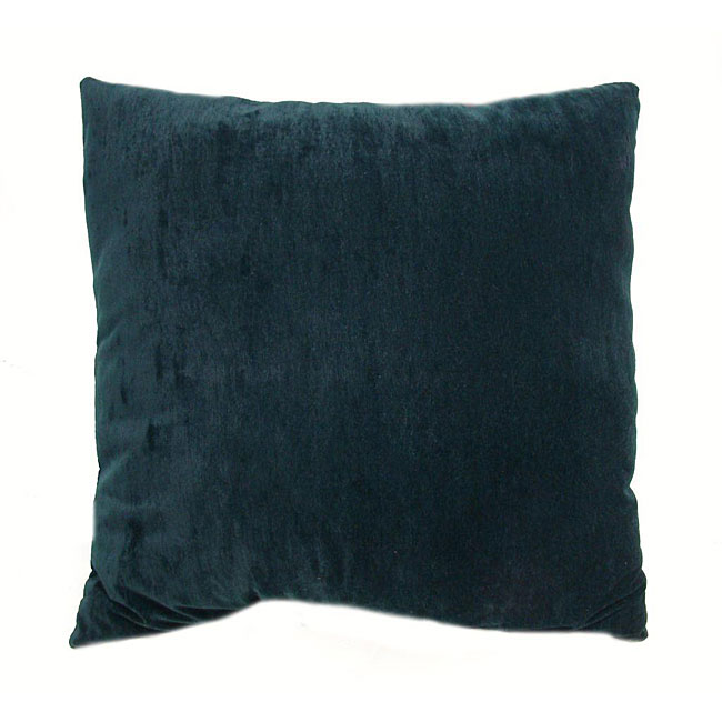 Leighton 16-inch Hunter Green Throw Pillows (Set of 2) - 12234010 - Overstock.com Shopping ...