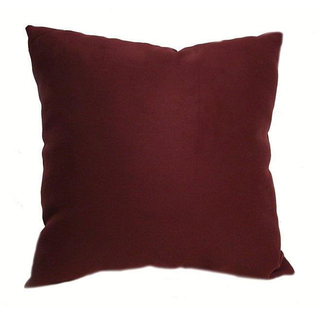 Burgundy Microfiber Throw Pillows : Ultrasoft 16-inch Burgundy Throw Pillows (Set of 2) - 12234056 - Overstock.com Shopping - Great ...