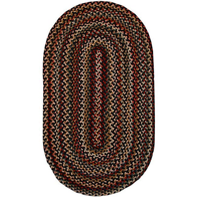 AT HOME by O Watch Hill Multi-color Indoor/ Outdoor Braided Rug (8' x 11') at Sears.com