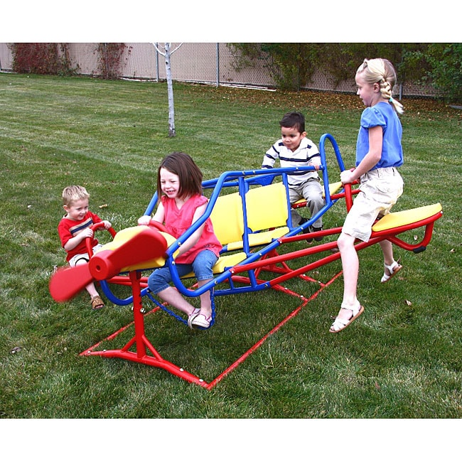 Lifetime Ace Flyer Airplane Teeter-totter