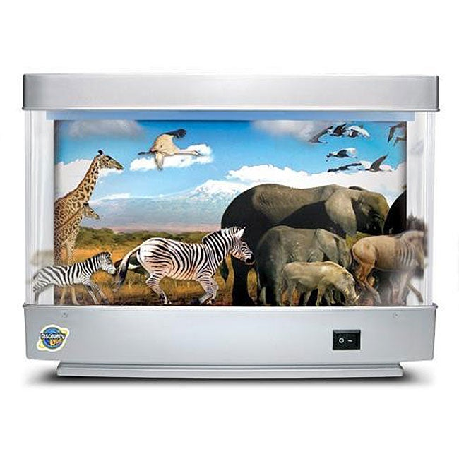 Discovery Kids Animated Safari Lamps (Case of 2)