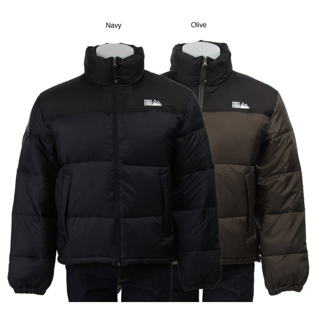 First Down Men's Two-tone Down Jacket