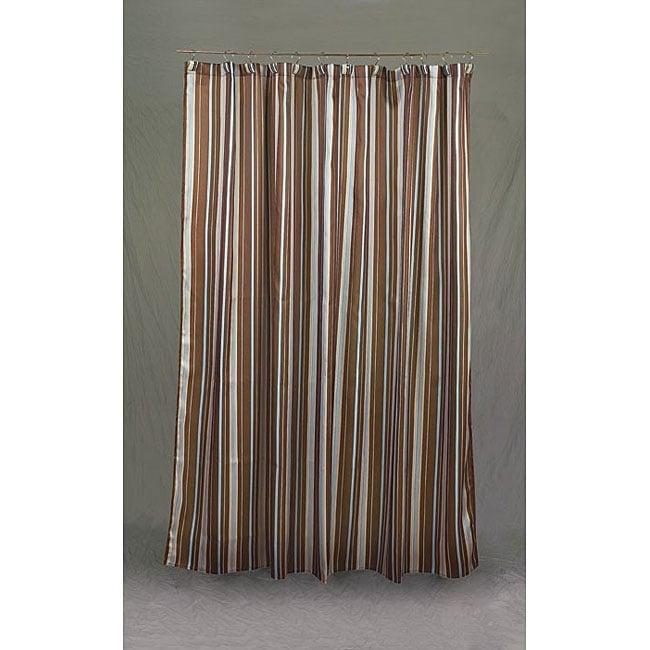 Avanti Linens 'Monet' Mocha Shower Curtain