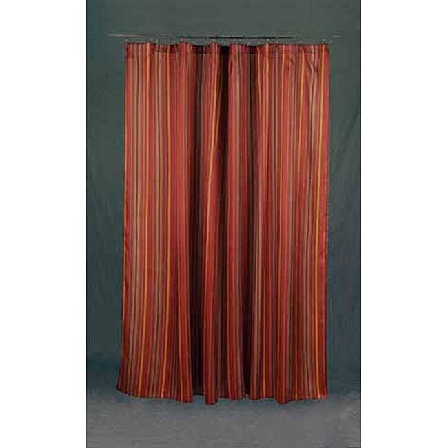 Avanti Linens 'Monet' Terracotta Shower Curtain