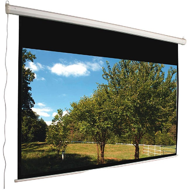 Mustang Electric 106-inch 16:9 Matte White Projector Screen