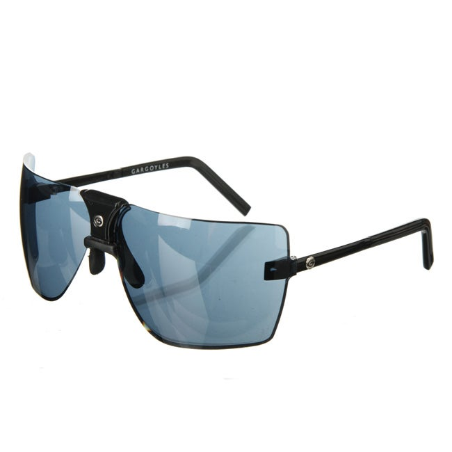 Gargoyle 'Classic' Black/ Black Ice Men's Sunglasses