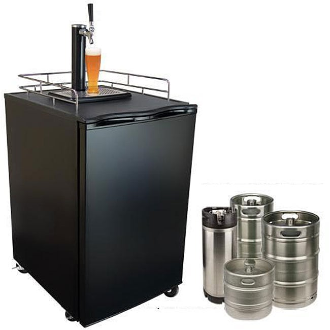 KeggerMeister Beer Refrigerator/ Keg Dispenser