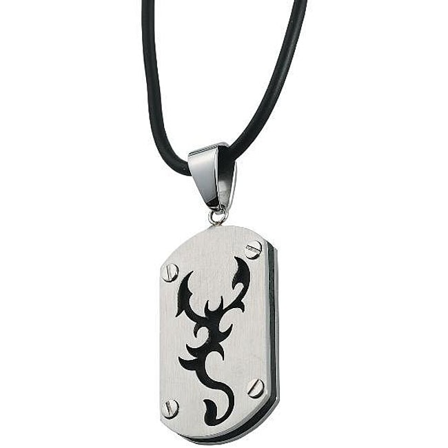 Stainless Steel Scorpion Design Pendant