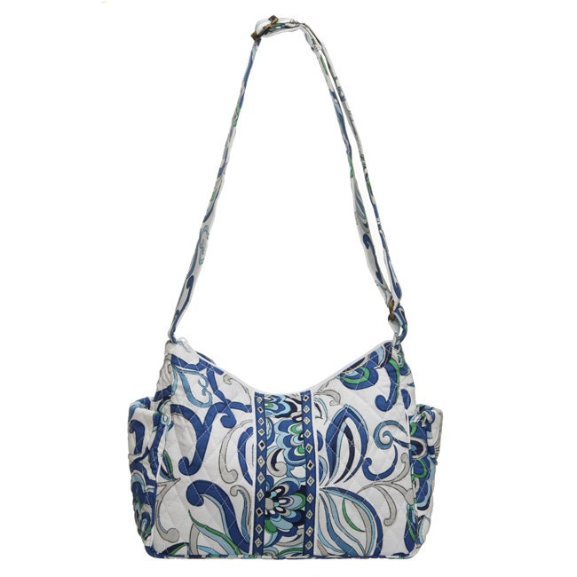 Vera Bradley 'Mediterranean White' On The Go Bag