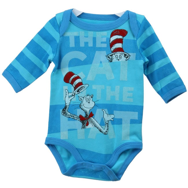 Baby Togs Newborn Boy Cat Hat Bodysuit