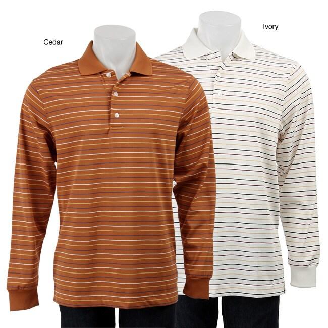Siegfried & Parzifal Men's Single Stripe Polo Shirt