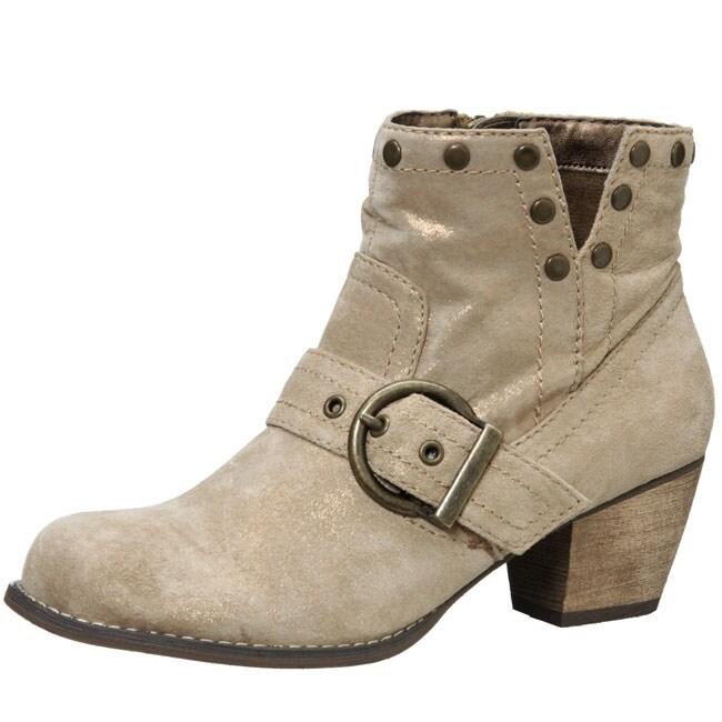 Gwyneth Women's 'Alba' Slip-on Ankle Boots