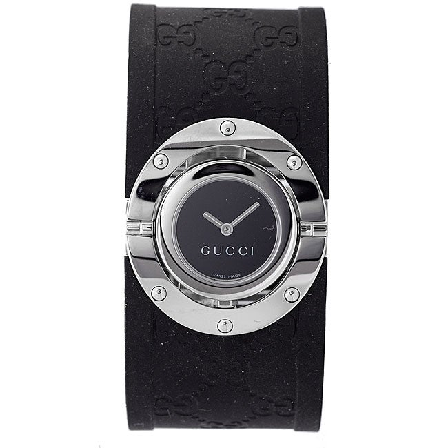 Gucci Women's Stainless Steel BlackTwirl Watch
