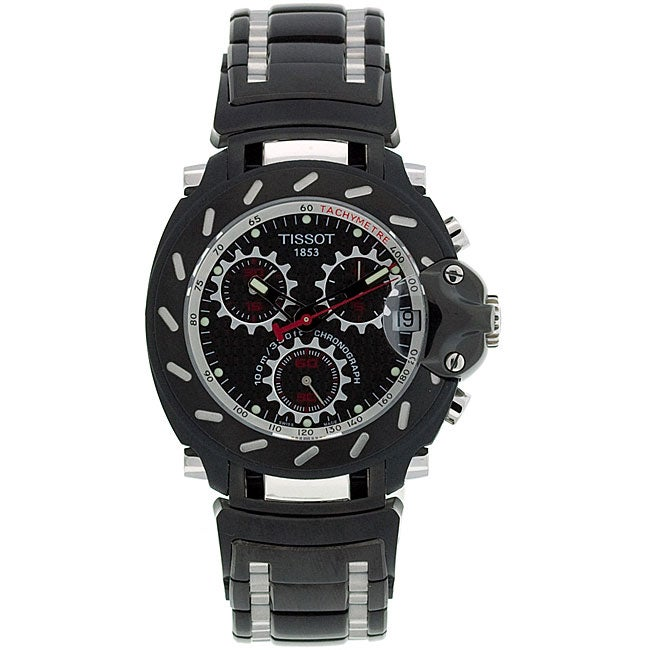 Tissot Men's T-Race Black PVD Stainless Steel Watch