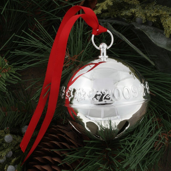 Wallace 2009 Annual Sleigh Bell Ornament