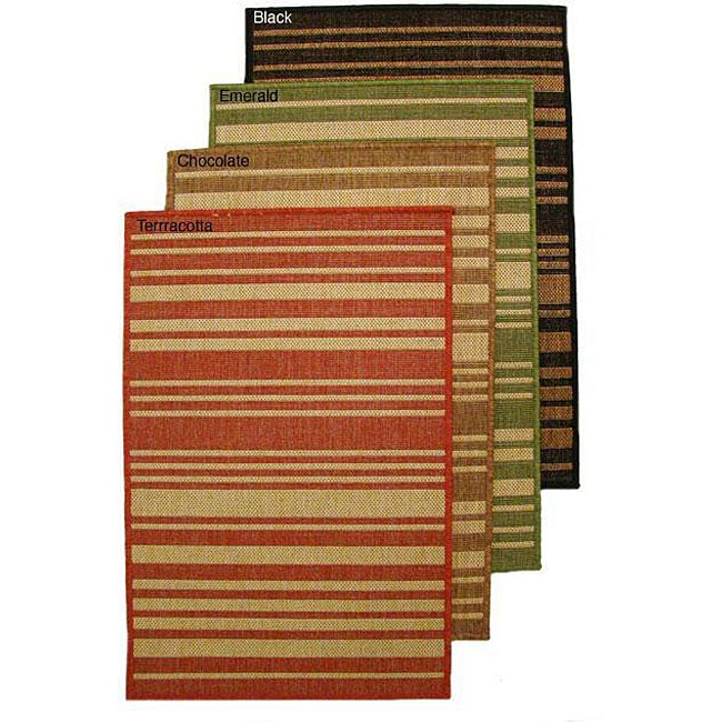 AT HOME by O Barcode Indoor/ Outdoor Area Rug (9'6 x 12'9) at Sears.com