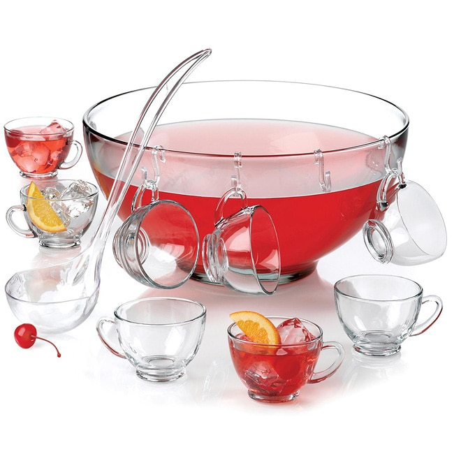 Anchor Hocking Punch Bowl Set (Case of 2)