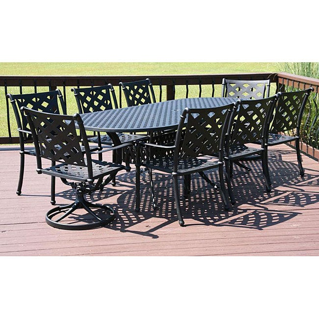 Outdoor Patio Furniture Savannah Ga: Savannah Outdoor Classics Melbourne 9-piece Welded Patio