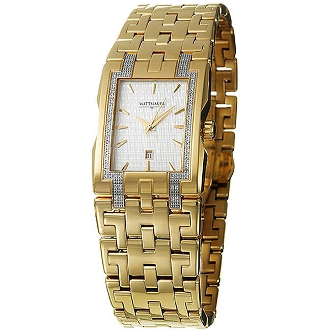 Wittnauer Men's Beckett Goldplated Steel Watch