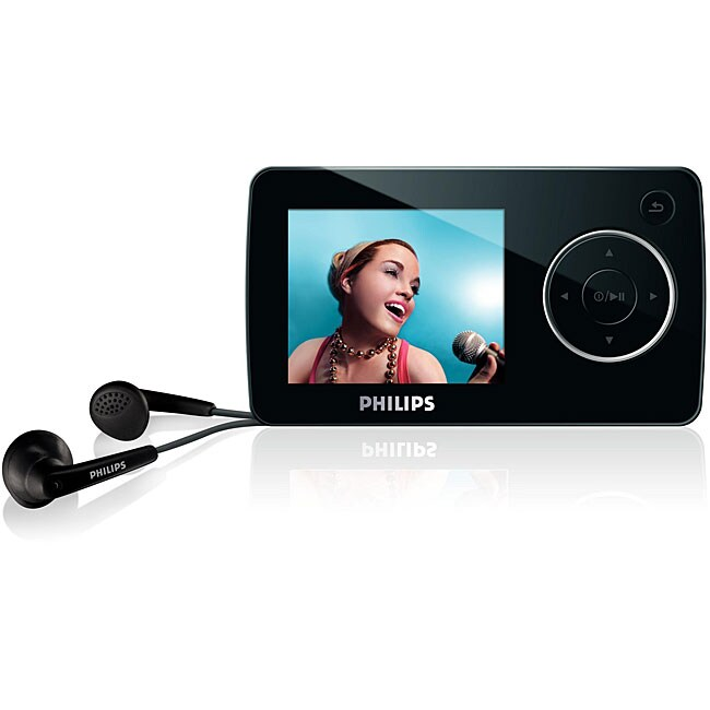 Philips SA3285 8GB GoGear MP3 Player (Refurbished)
