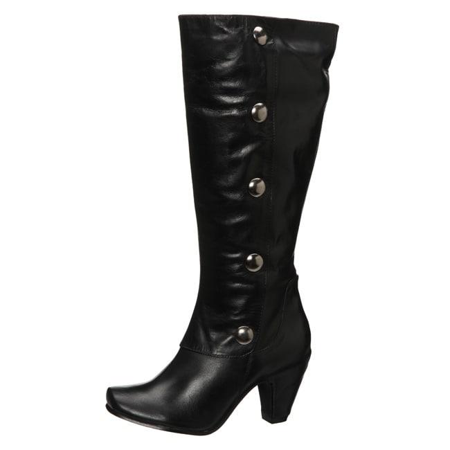 Diba Women's 'Cute Intent' Knee-high Button Boots