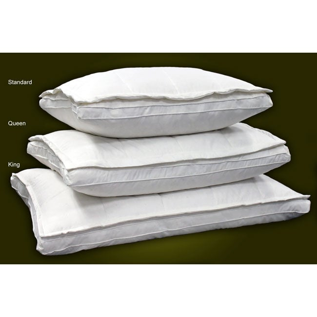 Down Top 240 Thread Count Feather Pillow
