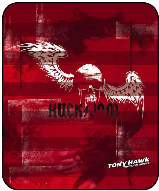 Tony Hawk Plush Throw