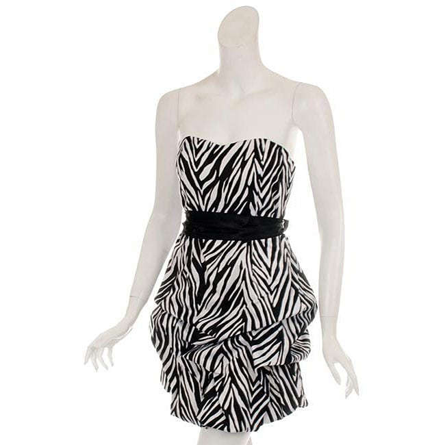 Zebra Party Dresses 113