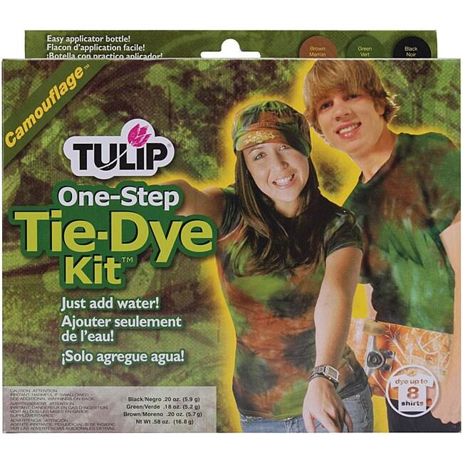 Tulip One-step Camouflage Tie-dye Kit