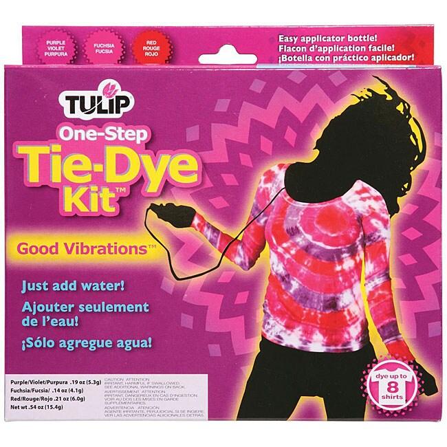 Tulip One-step Good Vibrations Tie-dye Kit