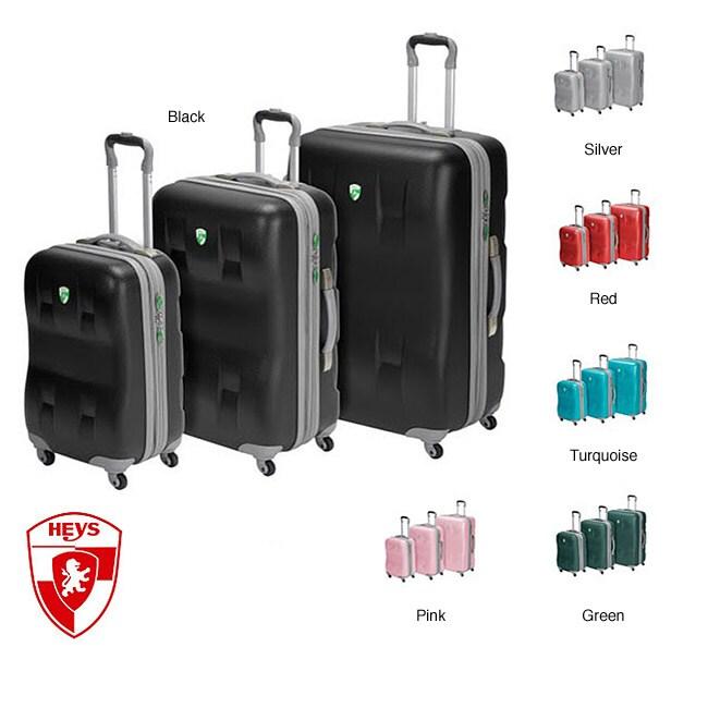 Heys EcoCase 3-piece Spinner Luggage Set