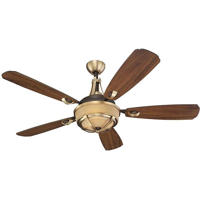 Wind manor 52 inch 5 blade ceiling fan overstock shopping great deals on monte carlo - Windmill ceiling fan for sale ...