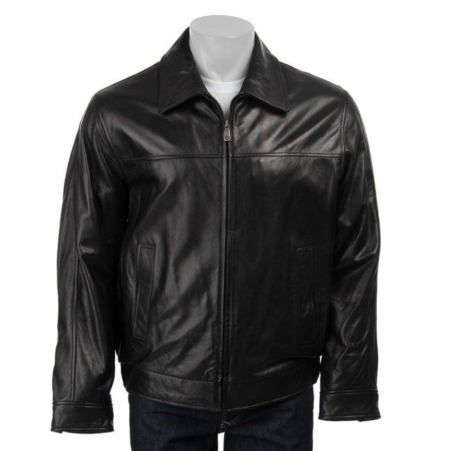 Docker leather jacket
