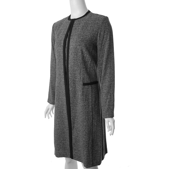 Danny and Nicole Women's 2-piece Tweed Coat/ Dress Set
