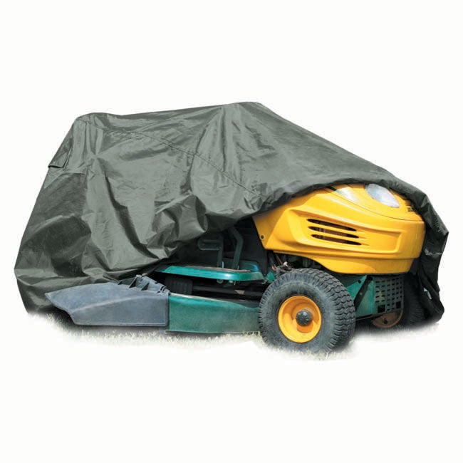 Coverite Olive Green Texlon Lawn and Garden Tractor Cover