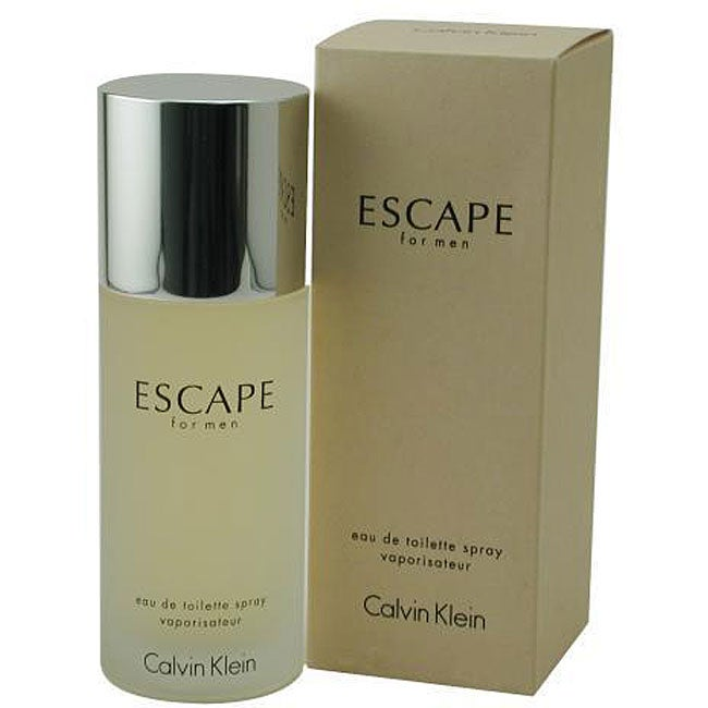 Calvin Klein Escape by Calvin Klein Men's 3.4-ounce Eau de Toilette Spray at Sears.com